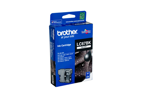 Genuine Brother LC67BK (Black) ink cartridge