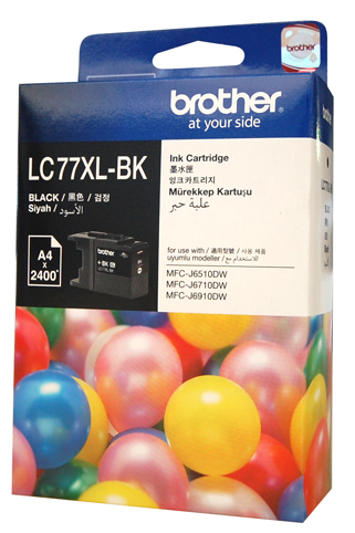 Genuine Brother LC77XL-BK (Black) ink cartridge