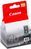 Genuine Canon PG40 (Black) ink cartridge