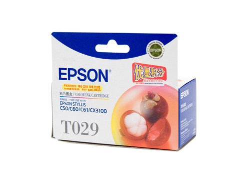 Genuine Epson T029 Colour ink cartridge