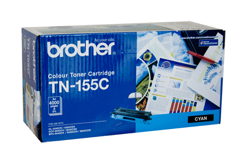 Genuine Brother TN155 Cyan toner cartridge