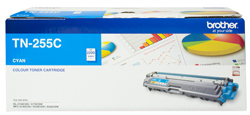 Genuine Brother TN255 Cyan toner cartridge