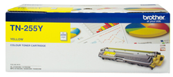 Genuine Brother TN255 Yellow toner cartridge