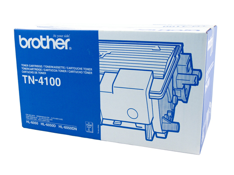 Genuine Brother TN4100 Black toner cartridge