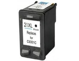Compatible HP21XL Black ink cartridge
