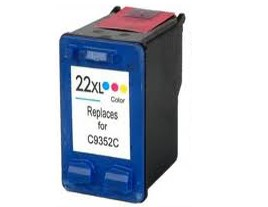 Compatible HP22XL Colour ink cartridge