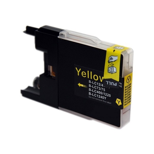 Compatible Brother LC73 Yellow ink cartridge