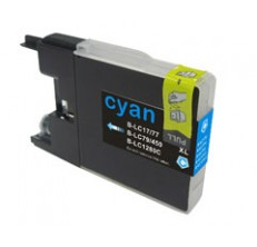 Compatible Brother LC77/LC73XL Cyan ink cartridge