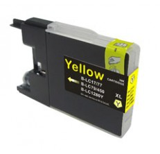 Compatible Brother LC77/LC73XL Yellow ink cartridge