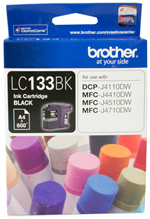 Genuine Brother LC133BK (Black) ink cartridge